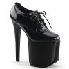 TRAMP-788 Black Patent
